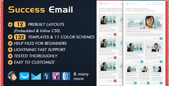 success newsletter by bedros themeforest