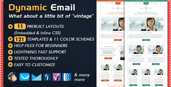 dynamic email template by bedros themeforest