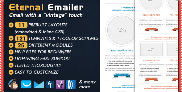 email template eternal newsletter by bedros themeforest