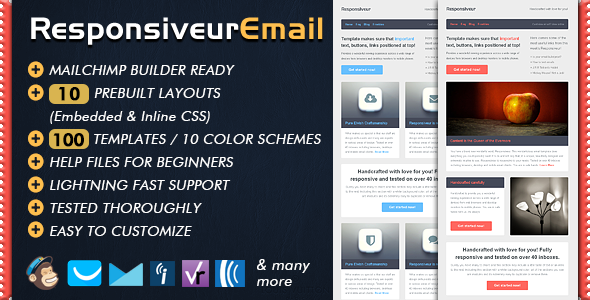 Responsiveur Responsive Email Newsletter Templates By Bedros - Online newsletter templates