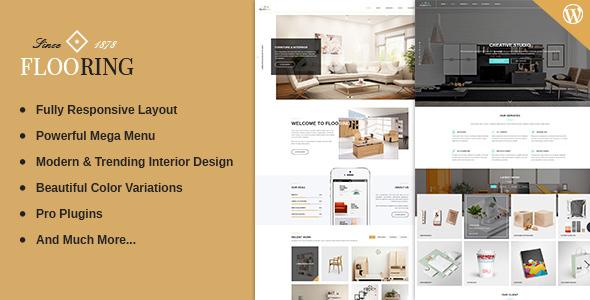 Flooring - Responsive & Multipurpose WordPress Theme by skyoftech ...