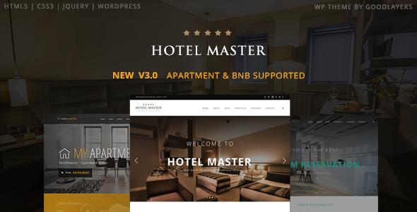 Hotel WordPress Theme   Hotel Master by GoodLayers   ThemeForest