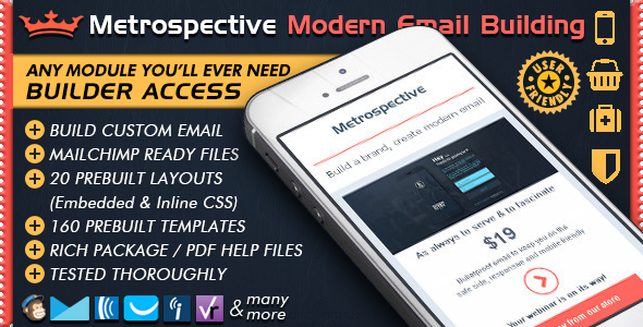 Email Template Builder Modern Responsive Email By Bedros ThemeForest - Build html email template