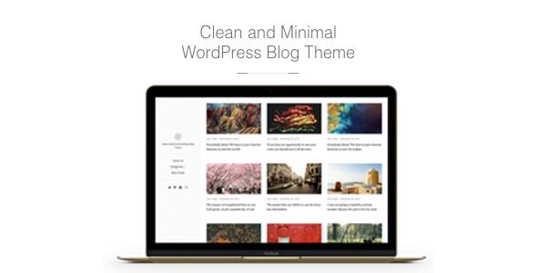East - Clean & Minimal WordPress Blog Theme by aspirethemes ...