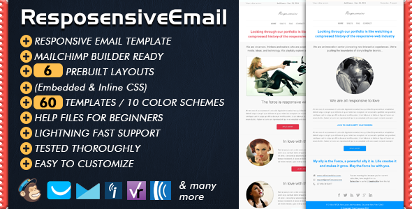Responsive Email | RESPOSENSIVE by Bedros | ThemeForest
