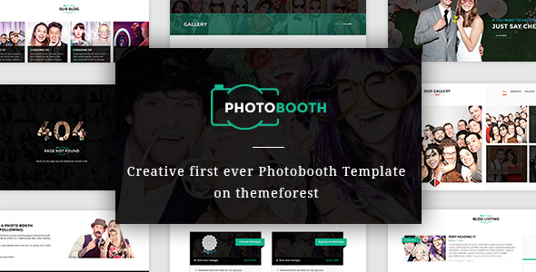 PhotoBooth Photo Booth Template By Venbradshaw ThemeForest - Photo booth design templates
