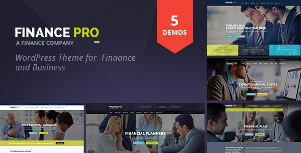 Finance and Business by ThemeChampion | ThemeForest