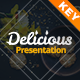 Delicious Keynote Presentat-Graphicriver中文最全的素材分享平台