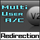 Multi user account with URL Redirection