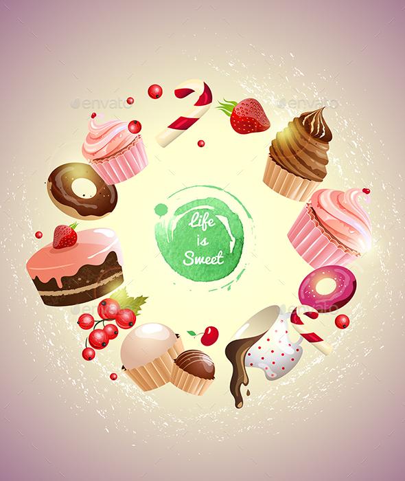 Dessert Logo Design Galleries for Inspiration