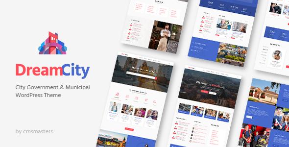 Dream City - City Portal & Government Municipal WordPress Theme by ...