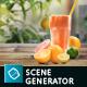 Organic Juice Mockup & -Graphicriver中文最全的素材分享平台