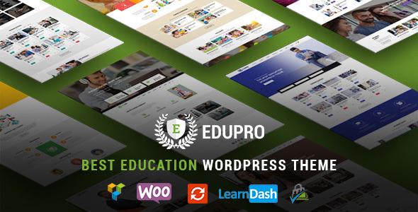 EduPro - Professional WordPress Education Theme by featherlayers ...