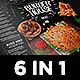 Burger Menu Set-Graphicriver中文最全的素材分享平台