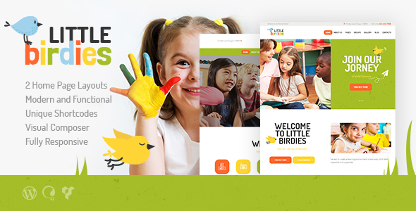 Little Birdies | A Multipurpose Children WordPress Theme by axiomthemes