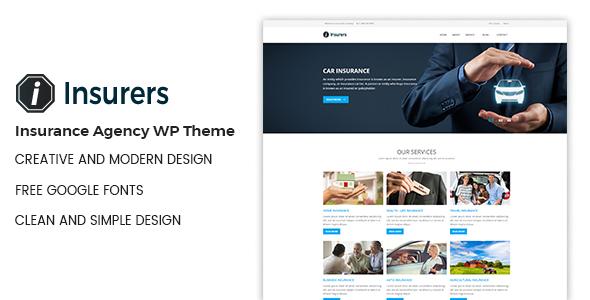 Insurers - Insurance Agency WordPress Theme by DevItems-Club ...
