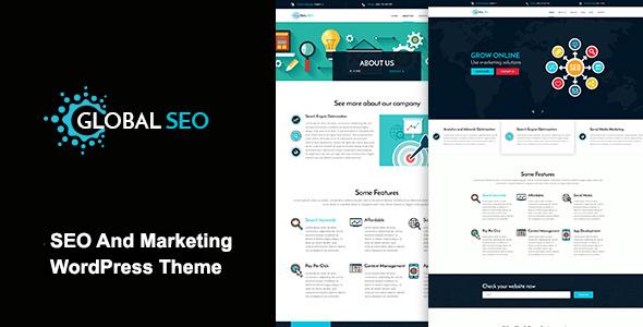 global seo marketing and seo responsive wordpress theme by madlene