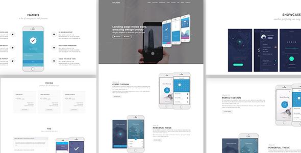Decades - App Showcase & App Store WordPress Theme by ThemeModern ...