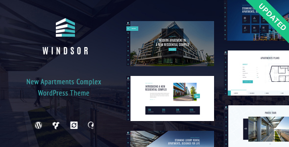 Windsor - Apartment Complex / Single Property WordPress Theme by ...