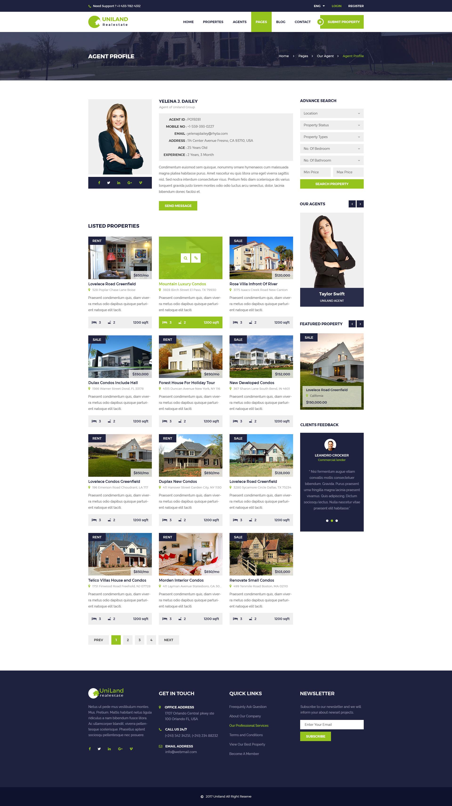 real estate profile template 2850851