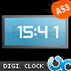 Flash Digital Clock 01 AS3