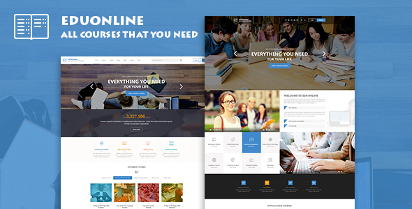Eduonline - Education & University WordPress Theme by jwsthemes ...
