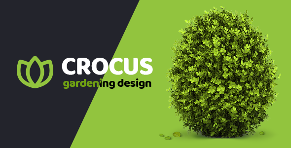 garden and landscape design company crocus gardening html template by like themes