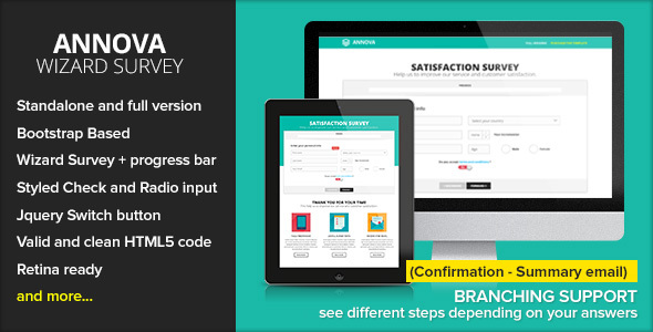 Annova  Survey Wizard By Ansonika  Themeforest