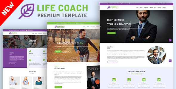 life coach psychologist and speaker template business corporate