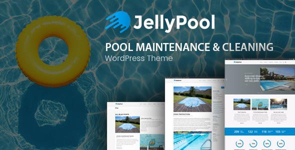 Pool Maintenance jellypool - pool maintenance & cleaning wordpress thememodeltheme