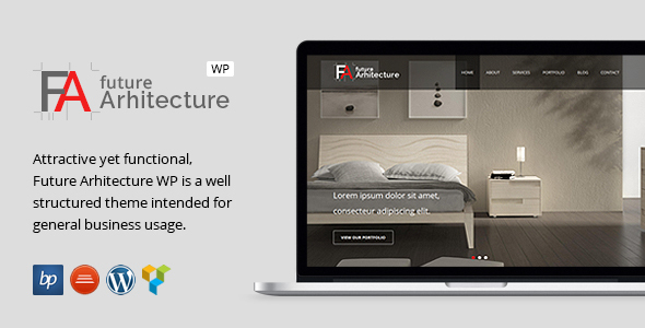 Future Architecture - Responsive WordPress Theme by bitpub   ThemeForest