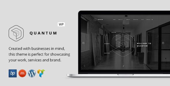 Quantum - Responsive Business WordPress Theme by bitpub   ThemeForest