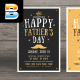 Happy Father's Day Flye-Graphicriver中文最全的素材分享平台
