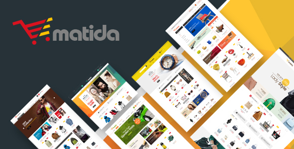 Matida - Multipurpose Responsive Magento Theme by Plaza-Themes ...