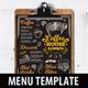 Coffee Menu Template-Graphicriver中文最全的素材分享平台