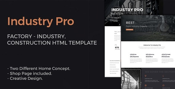 IndustryPro - Factory, Industrial, Construction Business HTML ... on industrial modern concrete house, folly design, graphic design, open-concept office design, industrial photography, industrial inspired kitchen, interior design, industrial antiques, log restaurant design, industrial food, commercial architecture design, industrial advertising, industrial bathroom, industrial shop designs, accessory design, commercial kitchen design, industrial look kitchen, industrial kitchen decor, industrial construction, industrial modern homes,