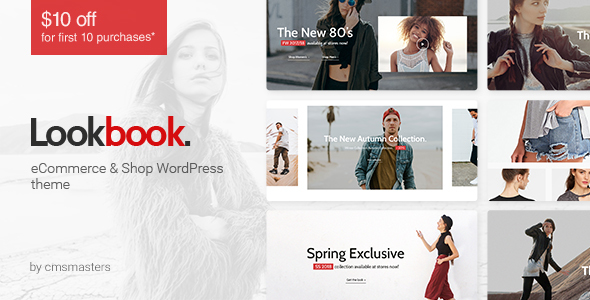 lookbook fashion store clothing woocommerce theme by cmsmasters. Black Bedroom Furniture Sets. Home Design Ideas