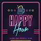 Happy Hour Beer Event-Graphicriver中文最全的素材分享平台