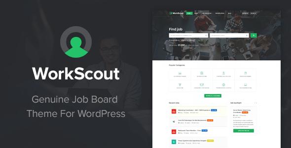 WorkScout - Job Board WordPress Theme by purethemes | ThemeForest