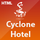Cyclone Hotel - Responsive Hotel Template - TemplateCorp Item for Sale