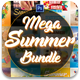 Summer Bundle Flyers Templa-Graphicriver中文最全的素材分享平台