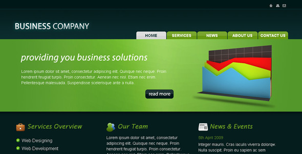 Business company html template by rjoshicool themeforest business company html template business corporate wajeb Gallery