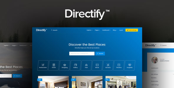 Directify directory listings and business html template by frenify directify directory listings and business html template business corporate fbccfo Images