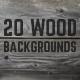 20 Beautiful Wood Backgroun-Graphicriver中文最全的素材分享平台