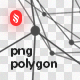 Transparent Outline Polygon-Graphicriver中文最全的素材分享平台