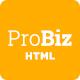 Probiz - Responsive Business HTML Template - TemplateCorp Item for Sale