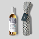 White Wine Bottle Mock-up-Graphicriver中文最全的素材分享平台