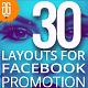 30 Duotone Facebook Promoti-Graphicriver中文最全的素材分享平台