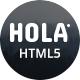 HOLA - Minimal Portfolio HTML5 Template - TemplateCorp Item for Sale