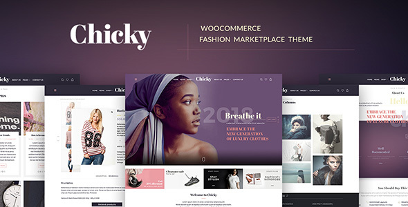 Chicky - WordPress Fashion Marketplace Theme by themesdotzone ...